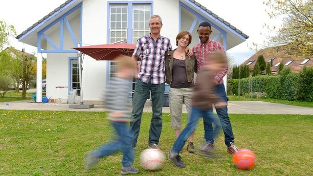 Asylbewerber in privaten Unterkünften (hier im Kanton Waadt): Auch im Kanton Zürich soll dieses Modell gefördert werden.