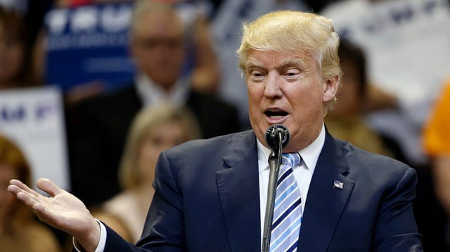 Il candidat per las elecziuns en ils Stadis Unids, Donald Trump