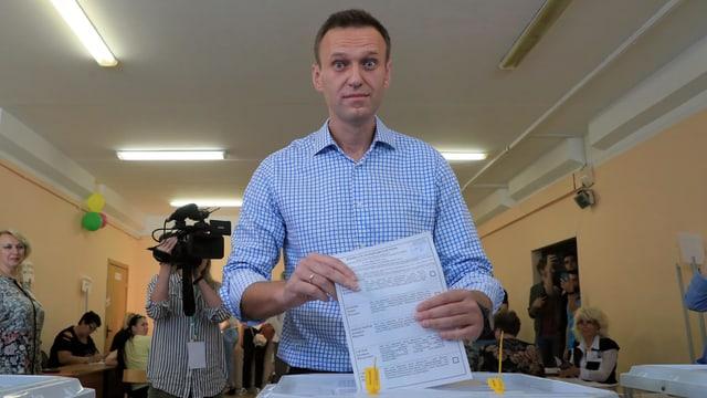 Regionalwahlen in Russland - Im Kampf gegen eine Schattenpartei