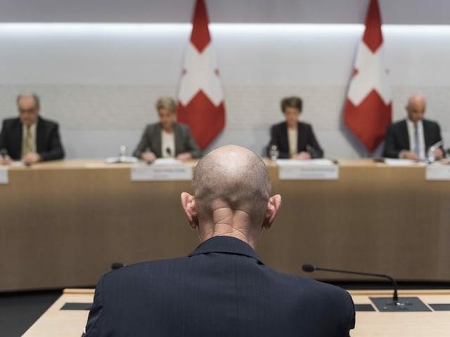 Koch und der Bundesrat.