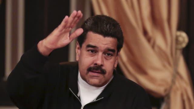 La partida da Nicolas Maduro, il president da la Venezuela ha pers las elecziuns parlamentaras.