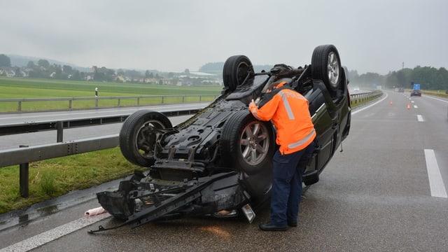 auto suenter accident sin il tetg.
