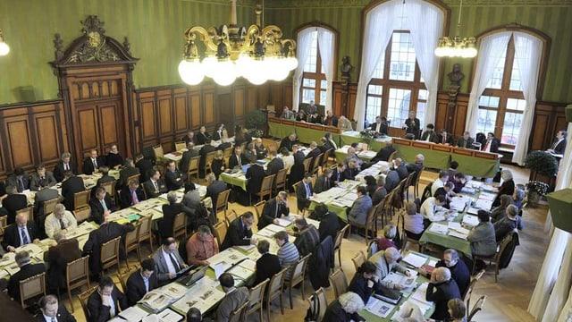 Der Grosse Rat Thurgau im Rathaus Weinfelden