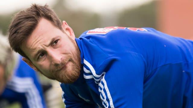 Jérôme Thiesson im Training