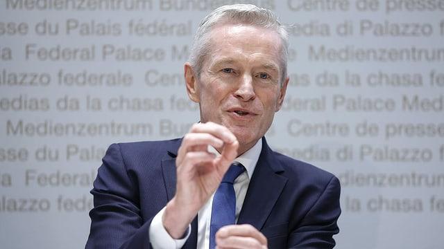 ElCom-Präsident Werner Luginbühl: