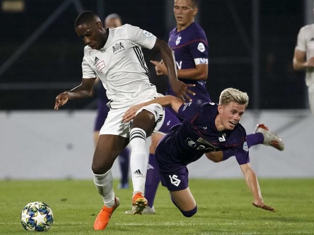 Lausanne-Sport setzt sich gegen Konkurrent Stade Lausanne-Ouchy überraschend nicht durch.