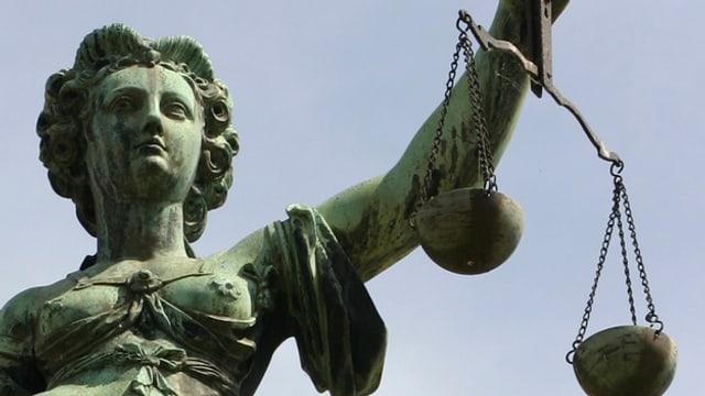 Justitia-Statue