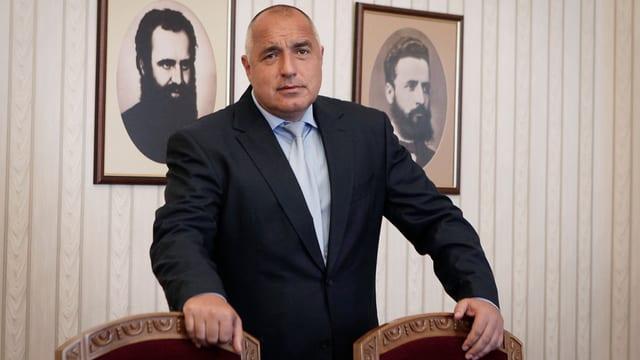 GERB-Parteichef Parteichef Boiko Borissow