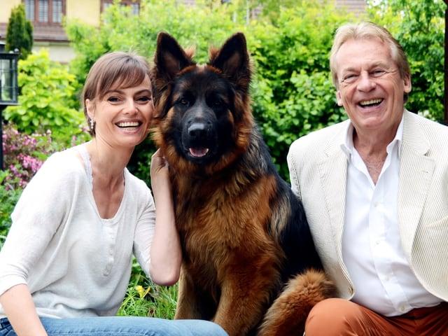Christine und Pepe Lienhard mit Garou