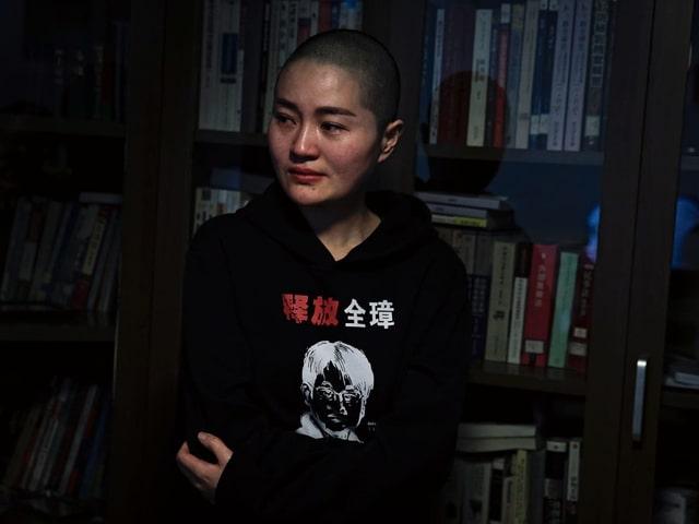 Wangs Ehefrau