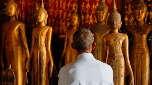 Obama im Tempel
