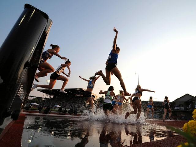 LA-Wettkampf in Eugene im Bundesstaat Oregon.