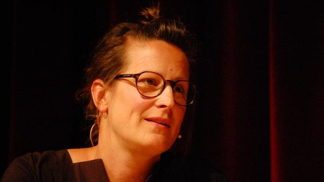 Annet Berger, Produzentin in 3. Generation der Linck-Vasen.