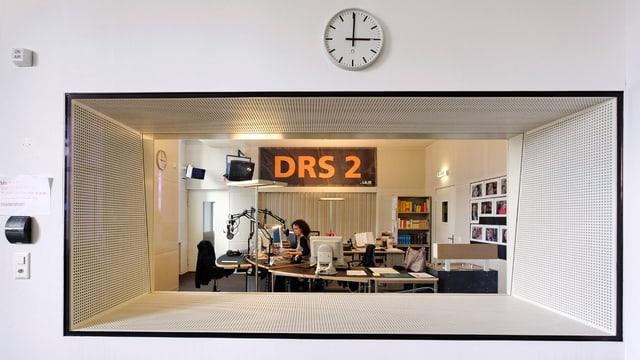 Radiostudio DRS 2 in Zürich