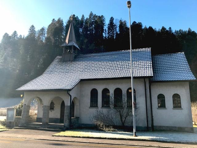 Die reformierte Kirche in Wiggen, im Kanton Luzern.