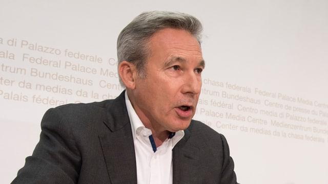 Il president da la fracziun da la PPS, Adrian Amstutz.
