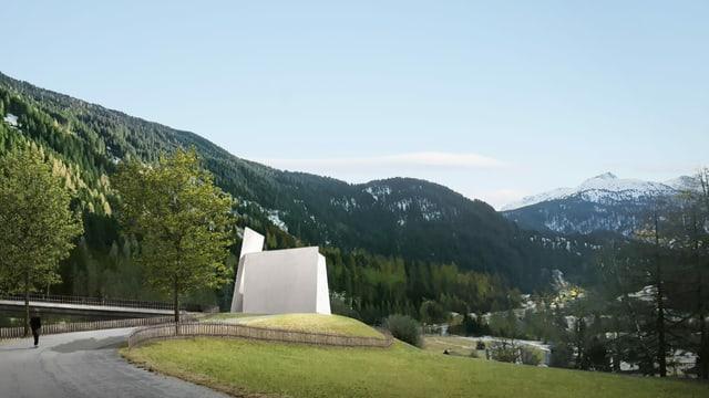 Die überirdische Kirche.