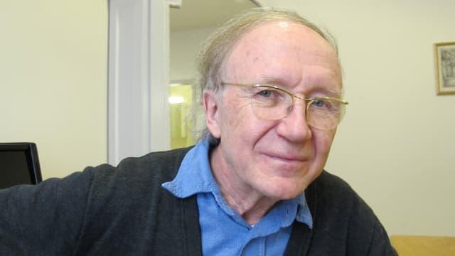 Porträt Heinz Holliger.