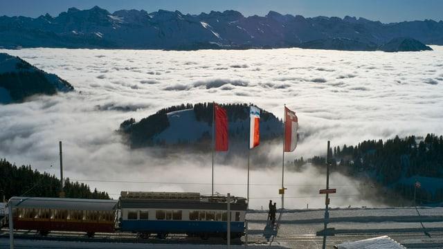 Ausblick auf Nebelmeer