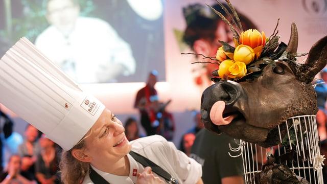 Chefchocolatier Geraldine Maras