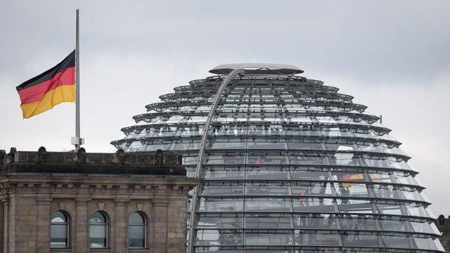 Reichstag a Berlin.