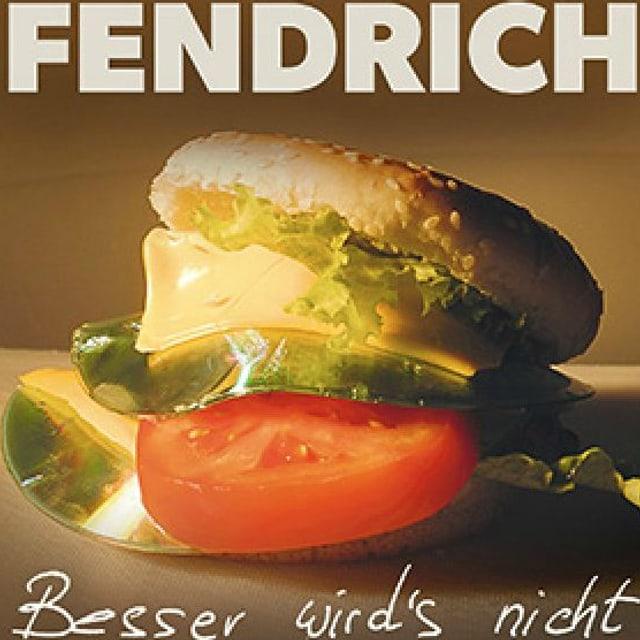 Bild eines Hamburgers als Anspielung auf den CD Titel