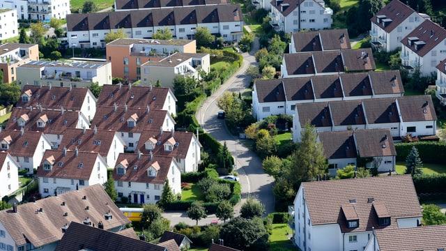 Siedlung im Kanton Zürich.