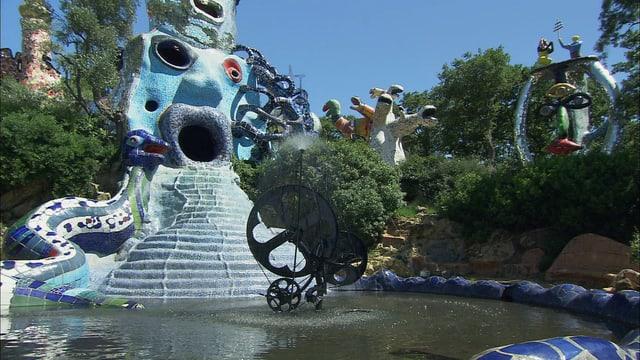 Video «Niki de Saint Phalle – Der Traum vom fantastischen Garten» abspielen