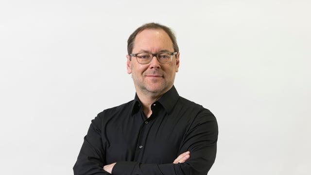 Purtret dad Erwin Ardüser.