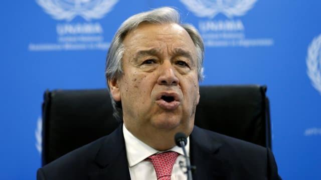 Uno-Generalsekretär Antonio Guterres.