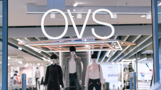 entrada d'ina filiala d'OVS