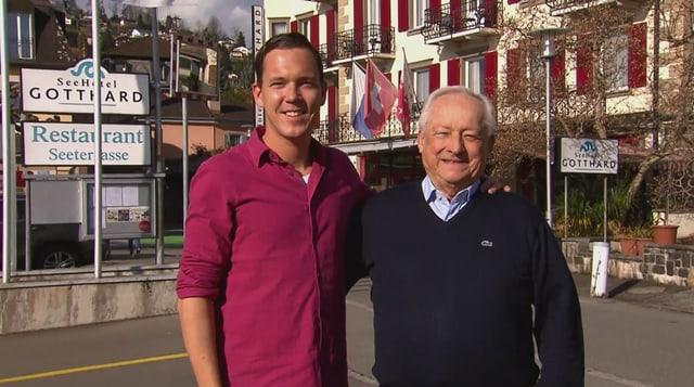 Video «Gewinner Spezial – Tag 5 – Seehotel Gotthard, Weggis» abspielen