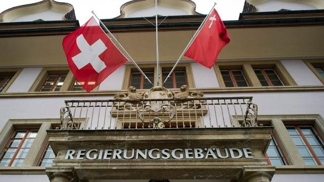 Das Schwyzer Regierungsgebäude in Schwyz.