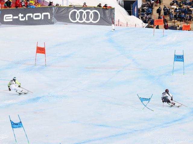 Das Parallel-Rennen an der Ski-WM.