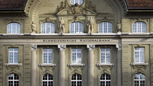 Das Gebäude der Schweizerischen Nationalbank in Bern.