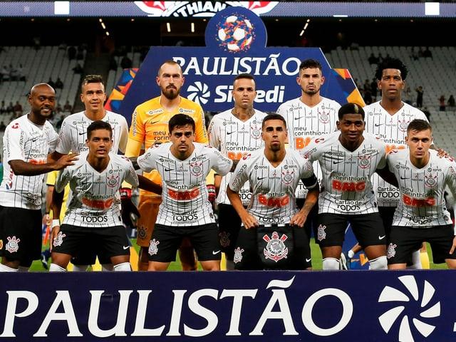 Das Team aus Sao Paulo.
