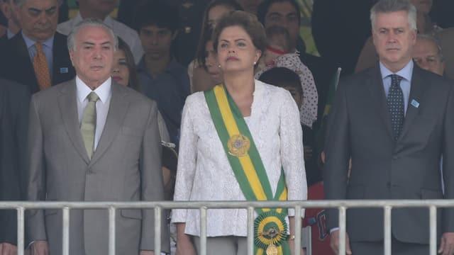 Represchentants da la regenza brasiliana.