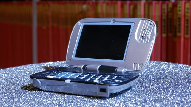 Ein Handy, das aussieht wie eine Auster.