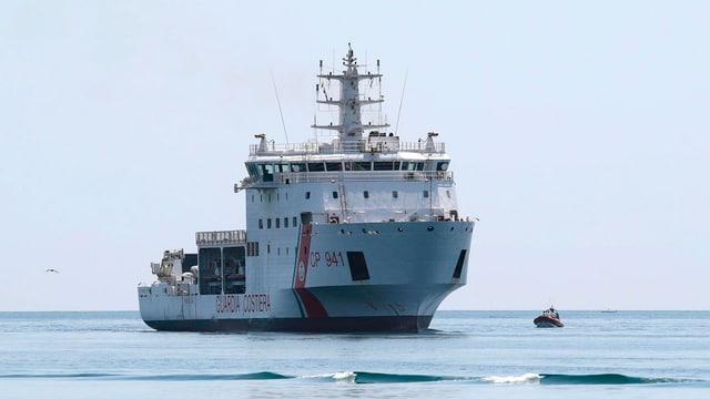 Das Küstenwachenschiff «Diciotti»