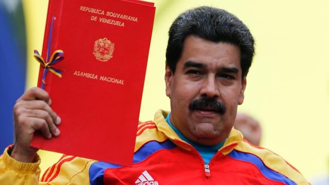 Il president Nicolas Maduro.