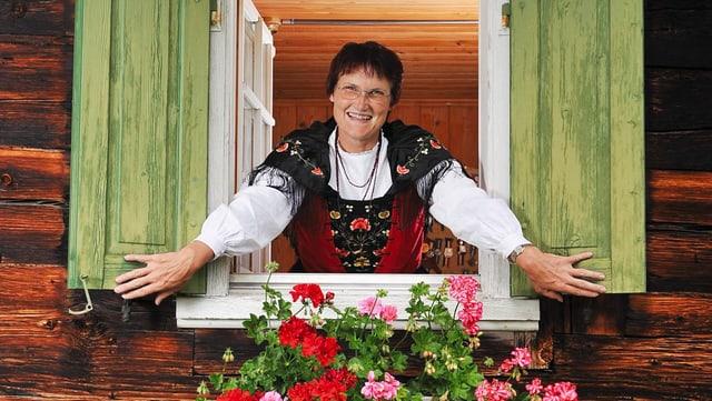 Video ««SRF bi de Lüt – Landfrauenküche» (5): Esthi Derungs» abspielen