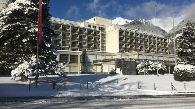 L'hotel Acla da Fontauna.