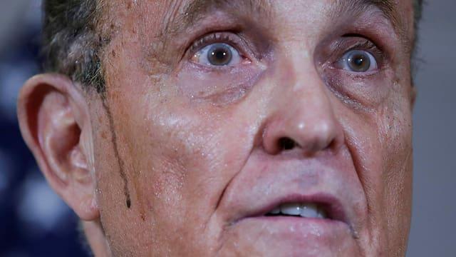 Die wirren Verschwörungsvorwürfe des Rudy Giuliani