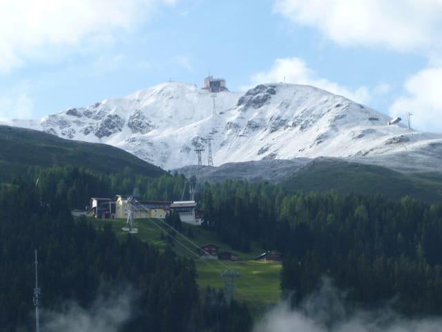 Weisser Gipfel.