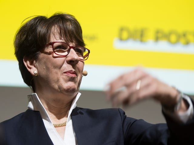 Susanne Ruoff ist seit 2012 CEO bei der Post.