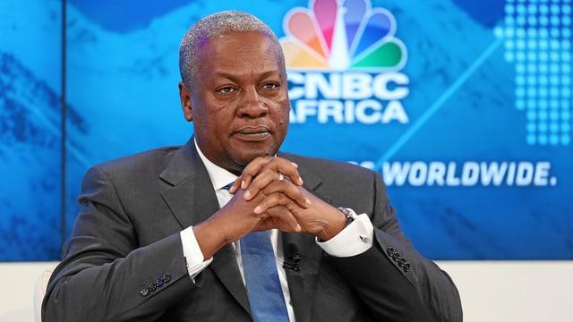 Ghanas Präsident John Dramani Mahama