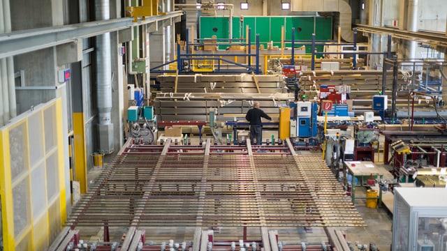 Produktionshalle der Arbonia