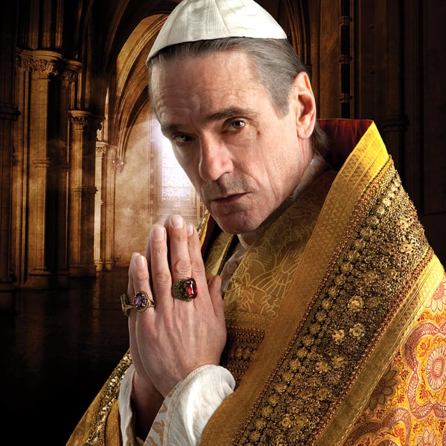 Jeremy Irons in «The Borgias».