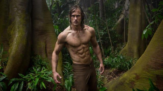 Alexander Skarsgård als Tarzan.