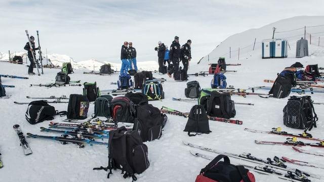 Qual der Wahl beim Material für Swiss-Ski-Fahrer